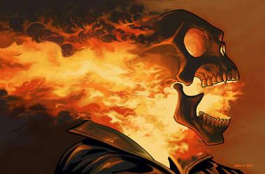 Ghost Rider by DennisBudd