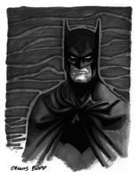convention sketch 06 Batman by DennisBudd