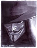 convention sketch 15 V for Vendetta by DennisBudd