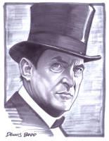 convention sketch 20 Sherlock Holmes by DennisBudd