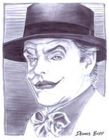 convention sketch 28 Joker by DennisBudd