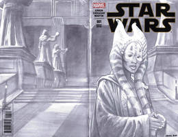 sketchcover 10 Shaak Ti by DennisBudd