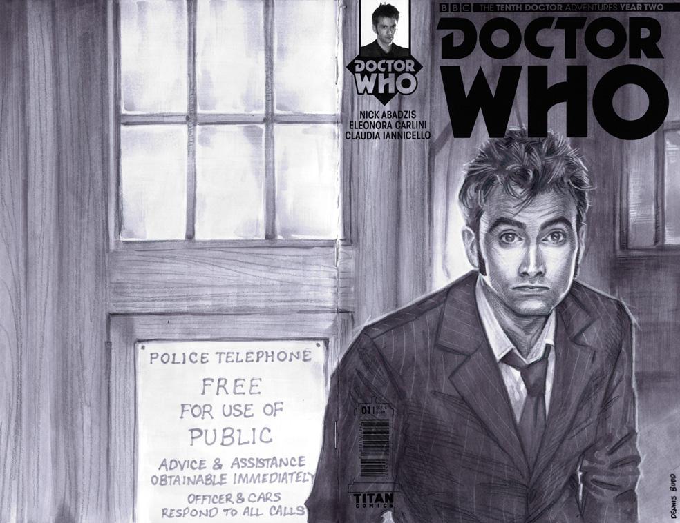 sketchcover 11 Doctor Who by DennisBudd