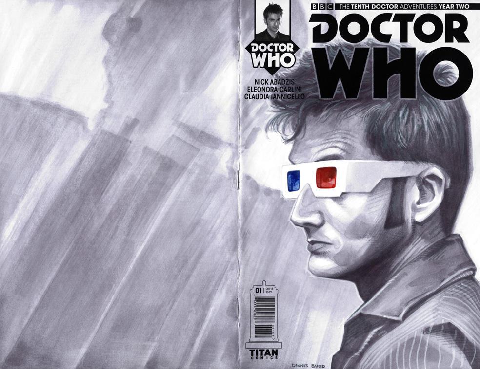 sketchcover 12 Doctor Who by DennisBudd