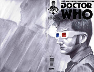 sketchcover 12 Doctor Who by DennisBudd