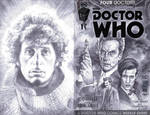 sketchcover 13 Doctor Who by DennisBudd