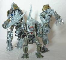 Bionicle MOC Group - The Army by Alex-Darkrai
