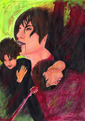 Rebirth -Gackt Painting- by Es-chan