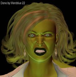 She-Hulk IH Style 1 by mercblue22