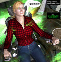 Tiffani becomes She-Hulk 19d by mercblue22