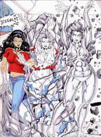 Angela becomes Icewoman TF1 by mercblue22