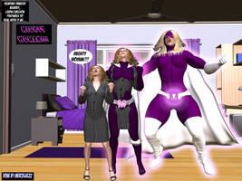 Linda Carlson becomes Mighty Woman TF 1! by mercblue22