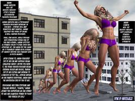 Sarah Watson and GIANTA SuperFEMs Bio Card! by mercblue22
