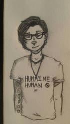 I'm a Huma/i/ne Human by wolfgirl327