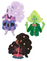 SU Outfit Doodles by SnowNeana