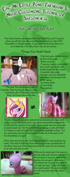 Epic MLP: FIM Customizing Tutorial Of Awesomeness! by liz-neko