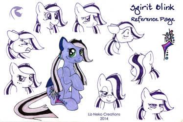 Spirit Blink reference page by liz-neko