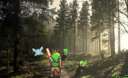 Link The Baddas- The Legend Of Zelda Four Swords by Nexal720