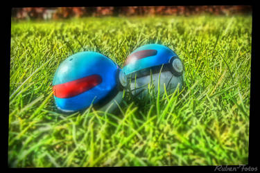 Pokeballs - Fake HDR by Ruben-fotos