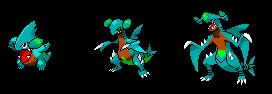 Custom Garchomp Line by Ultima228