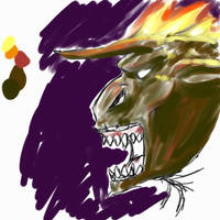 Balrog's Face by Ikrus