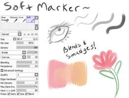 Soft Marker by tsukikalynn