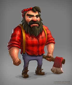 Lumberjackson by mavhn