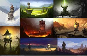 Siegecraft Commander Concepts by mavhn