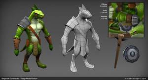 Siegecraft Commander Lizard Brute by mavhn