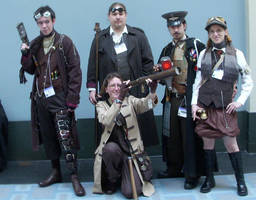Steampunk Airship Crew- Nobile by BlameTheEconomy