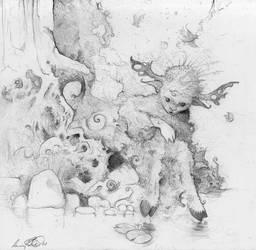 Cute Gremlin by shadowgirl