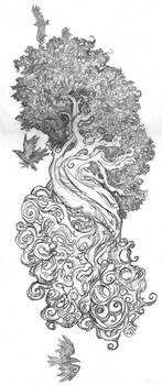 Yggdrasil - Tattoo by shadowgirl