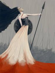 Goddess of War by shadowgirl