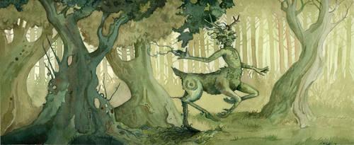 Green Boy by shadowgirl