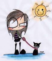 cat by jthmdeathrampage