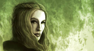 Cersei Lannister (colored version) by SeigneurNazgul