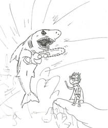 Chainsavv Shark by Insert-A-funny-name