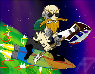 Space Metalhead by Insert-A-funny-name