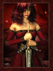 Viviane - Lady of the Lake by Phlox73