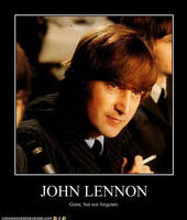 John Lennon by WilburRobinsonsGirl