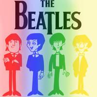 The Beatles by WilburRobinsonsGirl