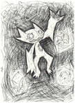Spooky Sableye! by Ikpoke