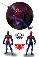 Spider-man Redesign by GinoDrone