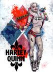 Harley Quinn by GinoDrone