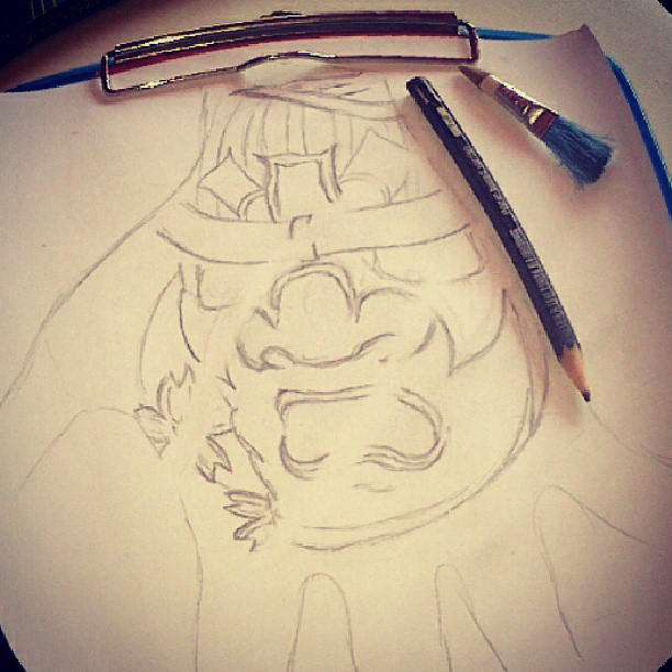 Japanese Samurai Mask Tattoo Design By Dongedzo On Deviantart