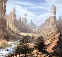 Desert Journey by LoopyWanderer