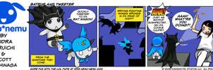 BatPup and Tweeter by nemu-nemu