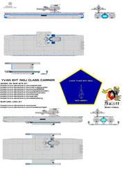 Yvan Eht Nioj Class Carrier by kaisernathan1701
