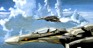 MACROSS Vf-25 FIGHTERS by Tristo