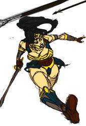 WonderWoman redesign by Tristo